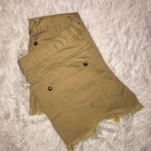 Free People Shorts - Free People Distressed Cutoff shorts size 26